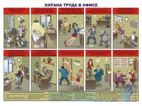 Плакаты о охране труда